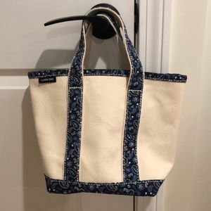 Small lands end canvas tote